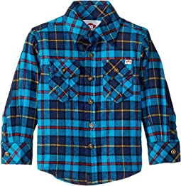 Snorkle Blue Plaid