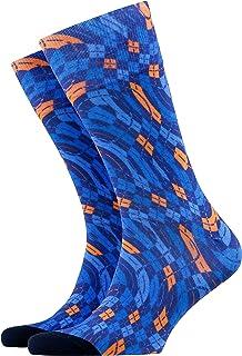 Burlington Men's Argyle Love Calf Socks