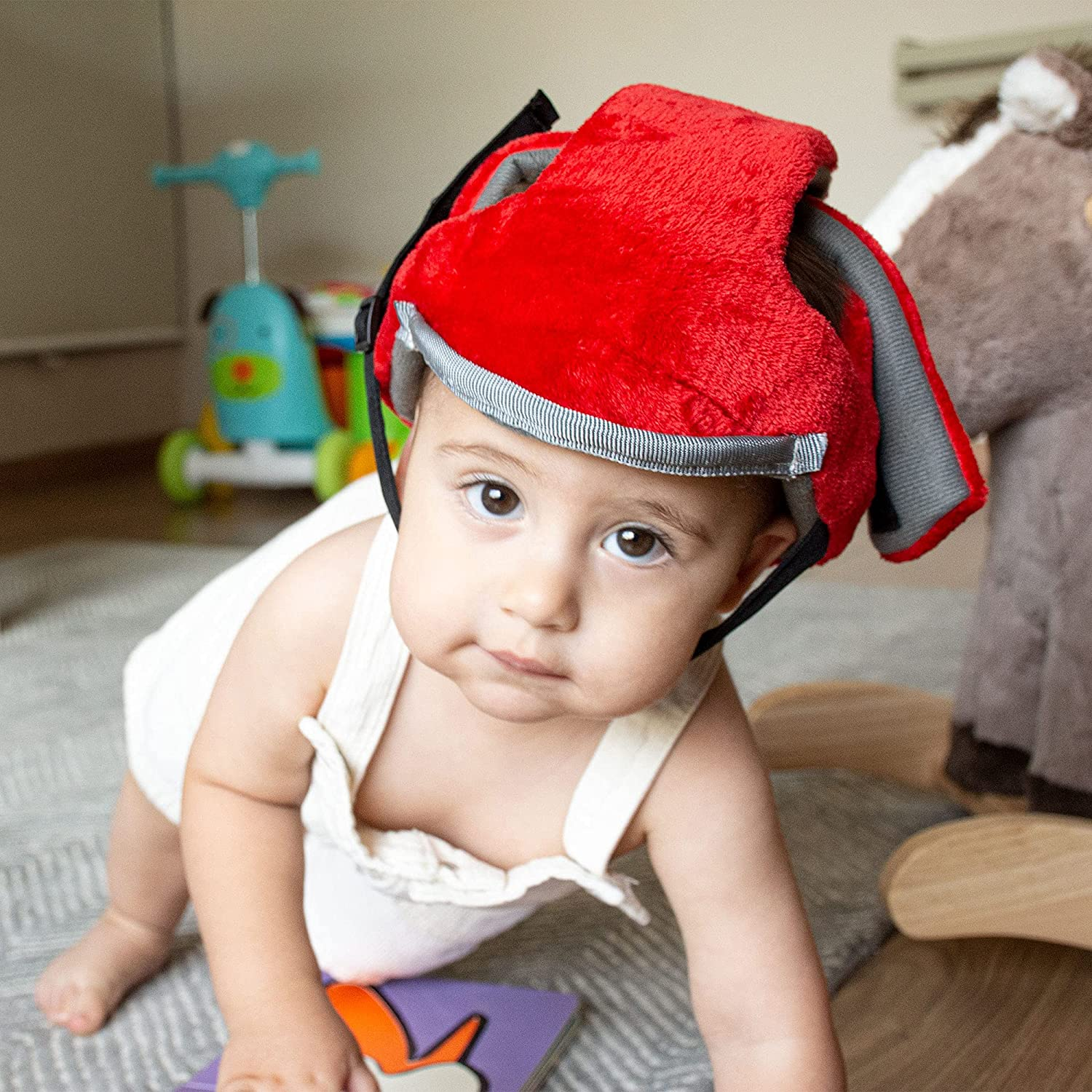 INFANTORY | Baby Helmet for Protection and Safety - Adjustable, Shockproof Foam