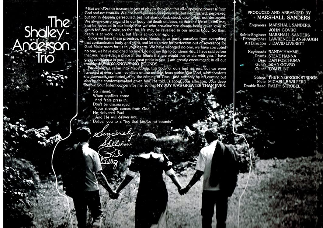 Joy Real Joy - Christian Music - Vinyl LP Record
