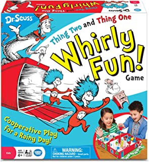 Wonder Forge Dr. Seuss Thing Two Thing One Whirly Fun Game