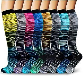 Compression Socks For Men & Women -Best for Running, Athletic, Medical, Pregnancy and Travel