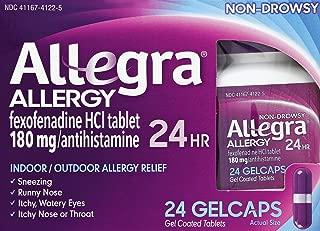 Allegra 24hr Gelcaps Size 24ct Allegra 24hr Gelcaps 24ct