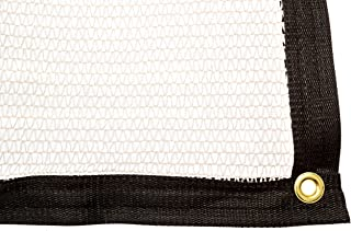 Be Cool Solutions 40% White Outdoor Sun Shade Canopy: UV Protection Shade Cloth| Lightweight, Easy Setup Mesh Canopy Cover with Grommets| Sturdy, Durable Shade Fabric for Garden, Patio & Porch 20'x24'