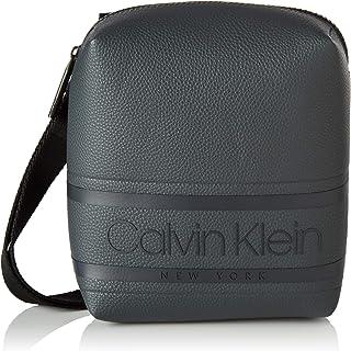 Calvin Klein Striped Logo Pu Mini Reporter - Shoppers y bolsos de hombro Hombre