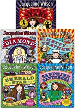 Jacqueline Wilson Hetty Feather Series Collection 5 Books Set (Little Stars, Sapphire Battersea, Diamond, Hetty Feather, Emerald Star)