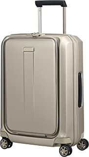 Samsonite 74770 Prodigy Spinner Hard Side Business Suitcase, Ivory Gold, 55 Centimeters