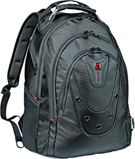 Wenger 605500 Ibex 125th Anniversary Slim Ballistic Backpack, Black, 26 L Capacity
