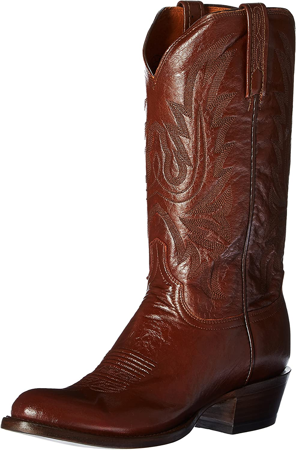 Lucchese Men's Miami Mall Carson Ranking TOP18 Leather Cowboy Boot