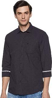 blackberrys Men's Solid Slim Fit Casual Shirt