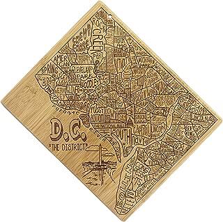 Totally Bamboo 20-8057IAD Washington DC Cutting Board, 9-3/8