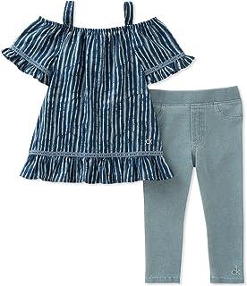Calvin Klein Girls' Tunic Set