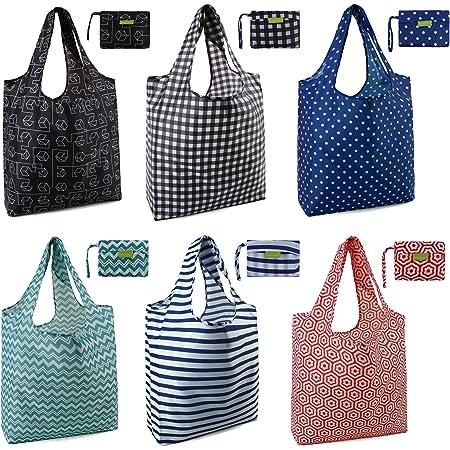 Yin Yang Eco-friendly Ripstop Nylon Foldable Grocery Tote BAGGU Standard Reusable Shopping Bag