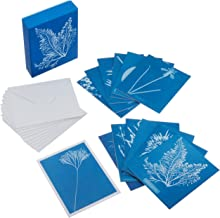 Sunprint Notecards: The Cyanotypes of Anna Atkins (12 notecards; 12 designs; matching envelopes; keepsake box)