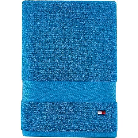 Tommy Hilfiger Modern American Toalla de baño, 76,2 x 137,1 cm, Azul Sueco