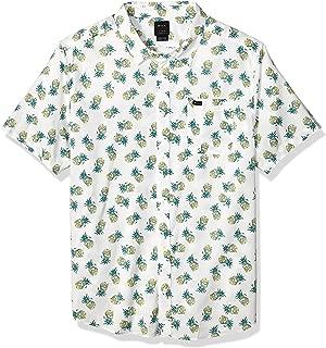 Men's ANP Pack Short Sleeve Woven Button Front Shirt