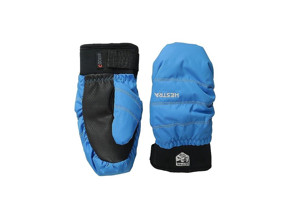 Hestra Czone Primaloft Junior Mitt (Turquoise) Ski Gloves