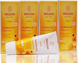 Set 4 x Weleda Calendula-Babycreme, 75 ml