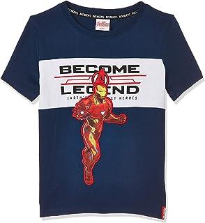 Marvel Boys TU8844 Boys fashion S/Slv t-shirt