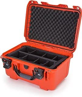 Nanuk 918 Waterproof Hard Case with Padded Dividers - Orange