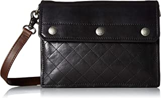 FRYE Samantha Quilted Leather Crossbody Bag