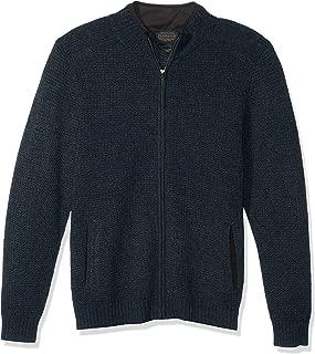 Men's Shetland Full Zip Cardigan Sweater