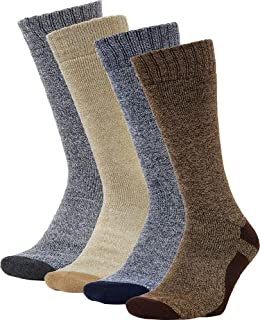 Performance Hiking Crew Socks 4 Pack
