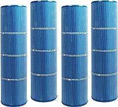4 Guardian Antimicrobial Pool Spa Filter Replaces Hayward CX875RE Swim Clear C4500, PA112, Unicel C-7489, Filbur FC-1275 Microban
