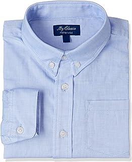 [マザウェイズ] 長袖 ボタンダウンシャツ ボーイズ 1007C 全2柄