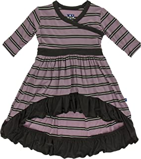 Girls Bamboo Hi-Lo Maxi Dress