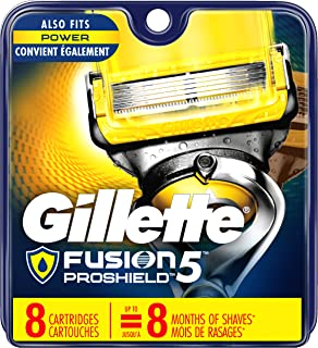 Gillette Fusion ProShield Men's Razor Blade Refills, 8 Count, Mens Razors / Blades (Packaging May Vary)