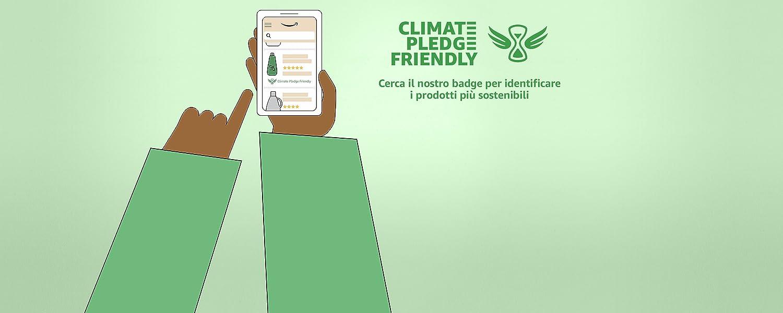 Cerca il nostro badge per identificare i prodotti più sostenibili