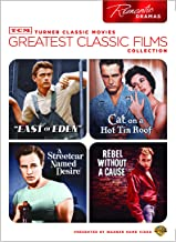 TCM Greatest Classic Films Collection: Romantic Dramas (East of Eden / Cat on a Hot Tin Roof / A Streetcar Named Desire / Rebel Without a Cause)
