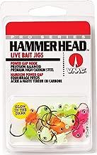 Hammer Head Jig Glow Kit 1/8 Assorted
