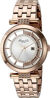 Kenneth Cole New York Women's 10021106 Transparency Digital Display Japanese Quartz Rose Gold Watch