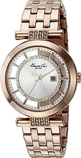 Kenneth Cole New York Women's 10021106 Transparency Digital Display Japanese Quartz Rose Gold Watch