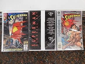 detective comic Superman No.75 #2 (1993); Superman No.75 #1 (1992) and The Death of Superman (1993).