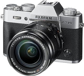 Fujifilm X-T20 Fotocamera Digitale 24MP con Obiettivo XF18-55mm F2.8-4 R LM OIS, Sensore CMOS X-Trans III APS-C, Schermo L...