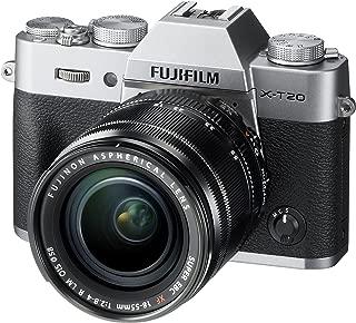 Fujifilm X-T20 Mirrorless Digital Camera W/Xf18-55Mmf2.8-4.0 R Lm OIS Lens (Silver)