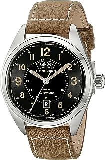 Hamilton - Reloj Analogico para Hombre de Automático con Correa en Cuero H70505833