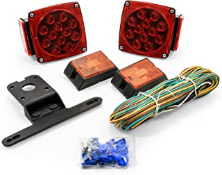 Camco 50020-A 50020 LED Trailer Light Kit with Side Markers