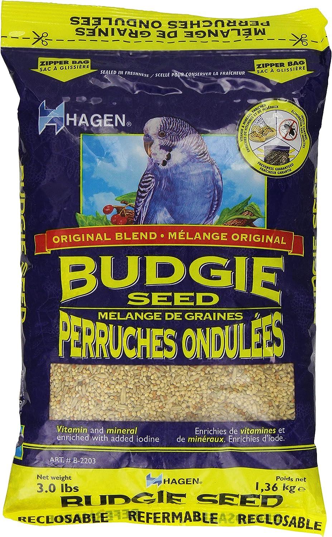 Parakeet/Budgie Staple Vme Seed, 3-Pound