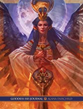 JOURNAL, GODDESS ISIS: Deluxe Edition (220 pages, + 44 full page colour images with deluxe soft cover with fold in flaps)