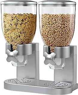 ضسبنسرس غذای خشک ضروری Zevro KCH-06124 / GAT202 ، کنترل دوگانه ، نقره