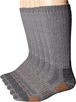 6-Pack All Season - All Terrain Crew Socks