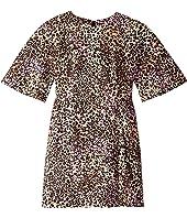 Adam Lippes - Leopard Cotton Sculpted Mini Dress