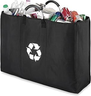 Whitmor Aluminum Handle Triple Recycle Sorter Black