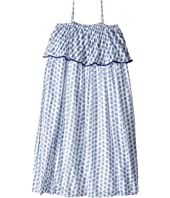 Polo Ralph Lauren Kids Gauze Print Max Dress (Big Kids)