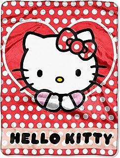 SANRIO Hello Kitty, Polka Dot Explosion Silk Touch Throw Blanket, 46