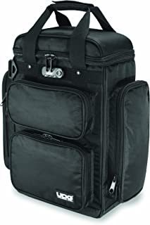 UDG Ultimate ProducerBag U9022BL/OR - Maletín transportador para DJ, color negro y naranja